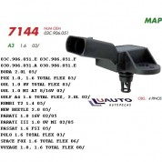 SENSOR MAP FLEX VW GOL GOLF FOX POLO 02/ AUDI 1.6 MOTOR
