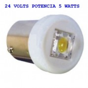 LAMPADA LED BRANCO 67 24 VOLTS POTENCIA 5 WATTS LATARIA